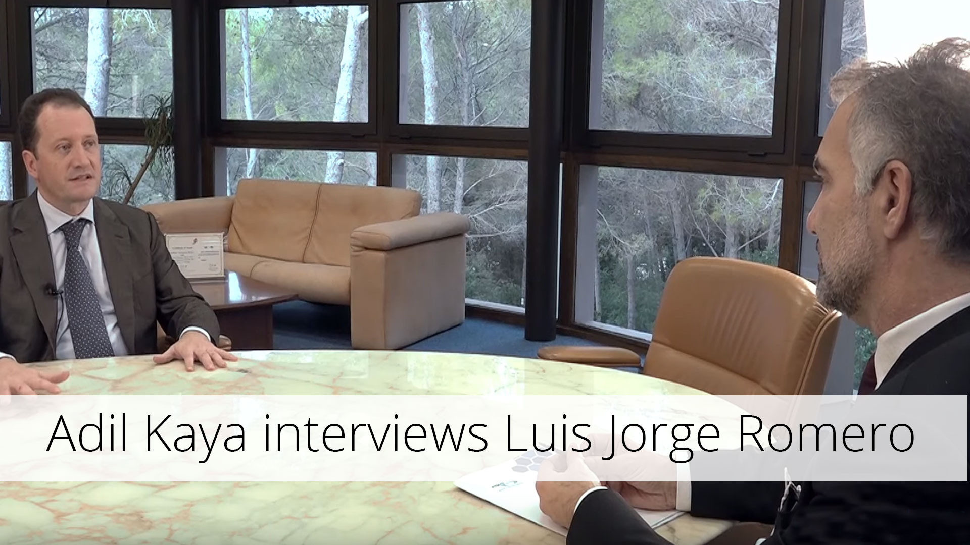 Adil Kaya interviews Luis Jorge Romero, ETSI, 3GPP