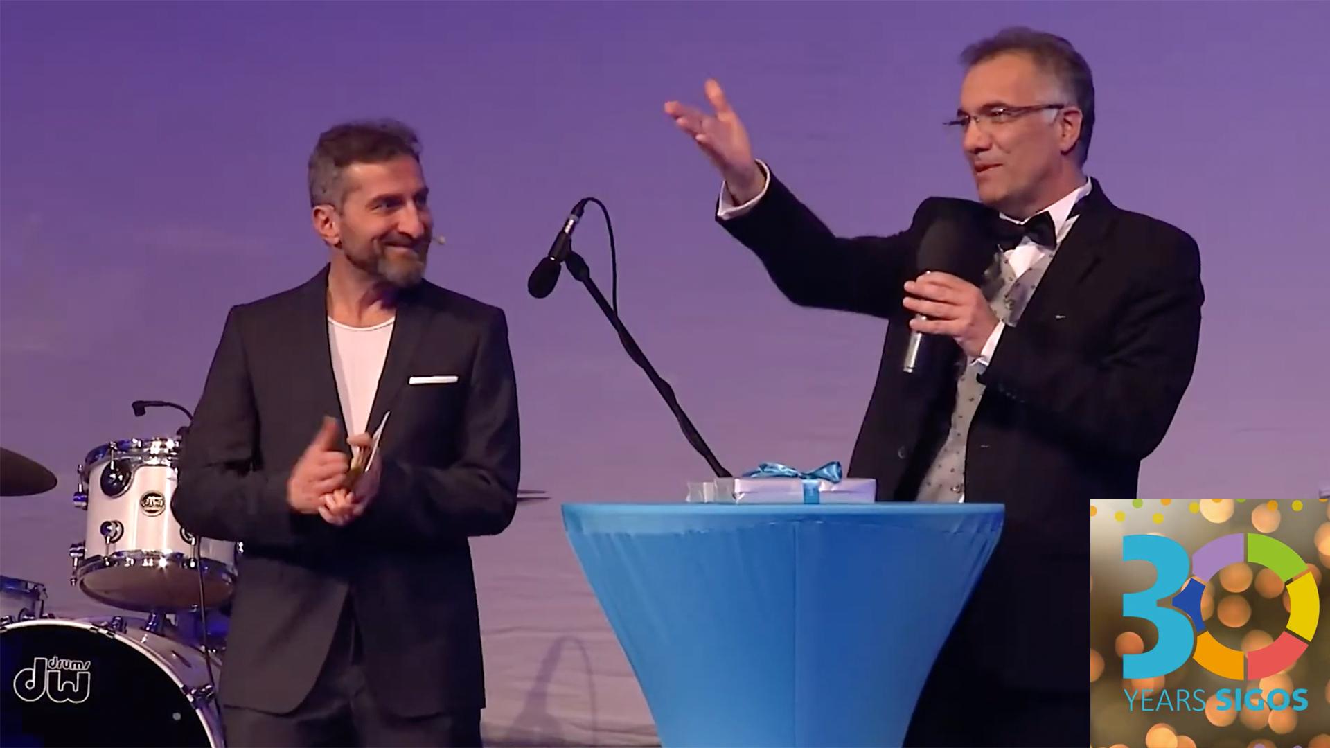 Adil Kaya at 30th anniversary of SIGOS in Nuremberg, Germany, 2020