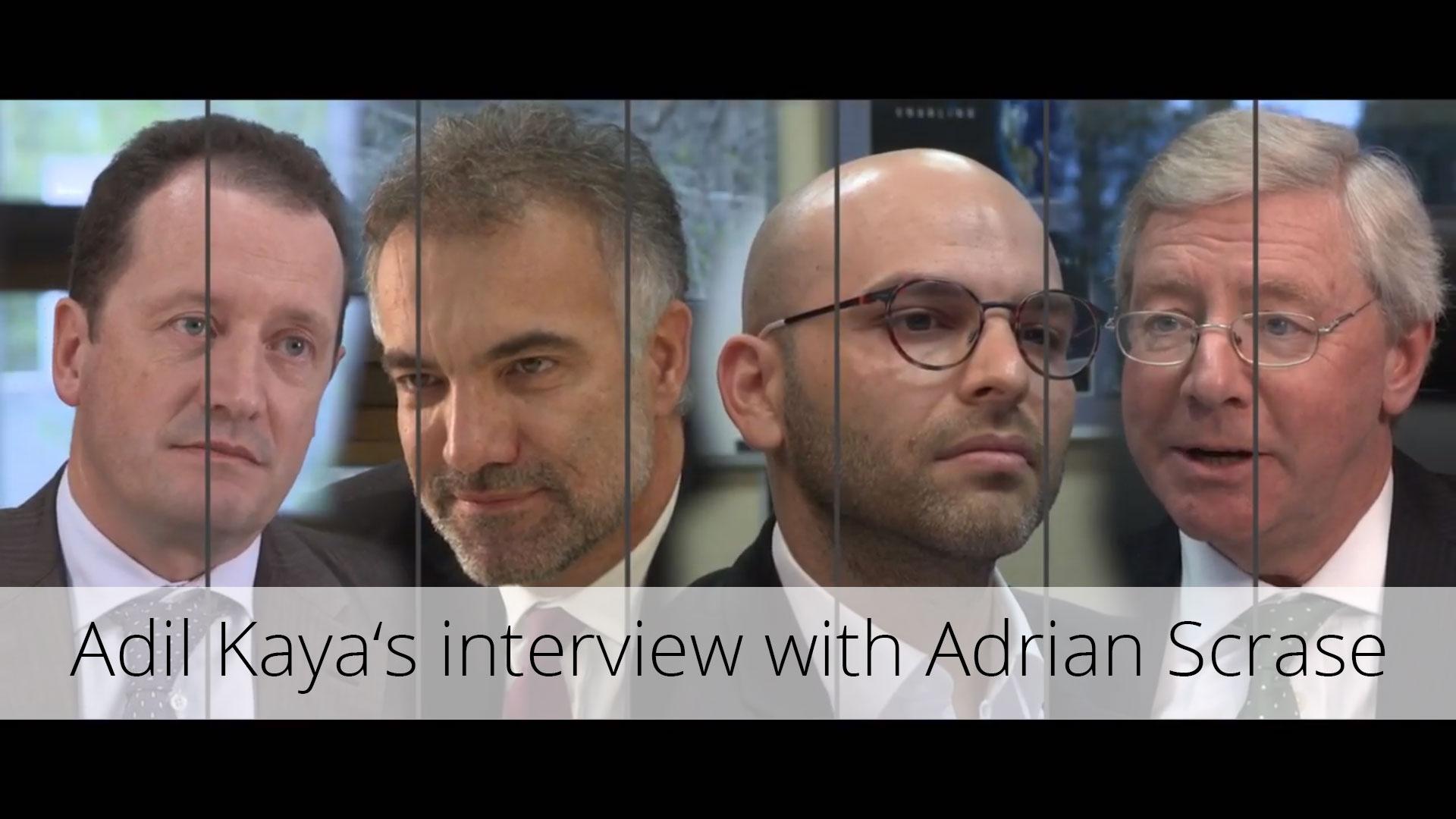 Adil Kaya interwiew with Adrias Scrase, ETSI, 5GPP