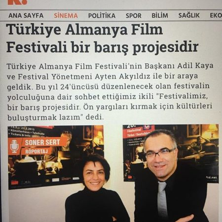 Adil Kaya in the Turkish Movie Press