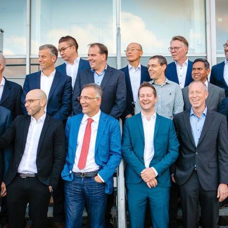 Adil Kaya with SIGOS Leadership in Ghent, 2019