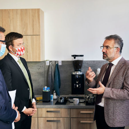 Visit of lord mayor of Nuremberg Marcus König and mayor Dr. Michael Fraas @ SIGOS