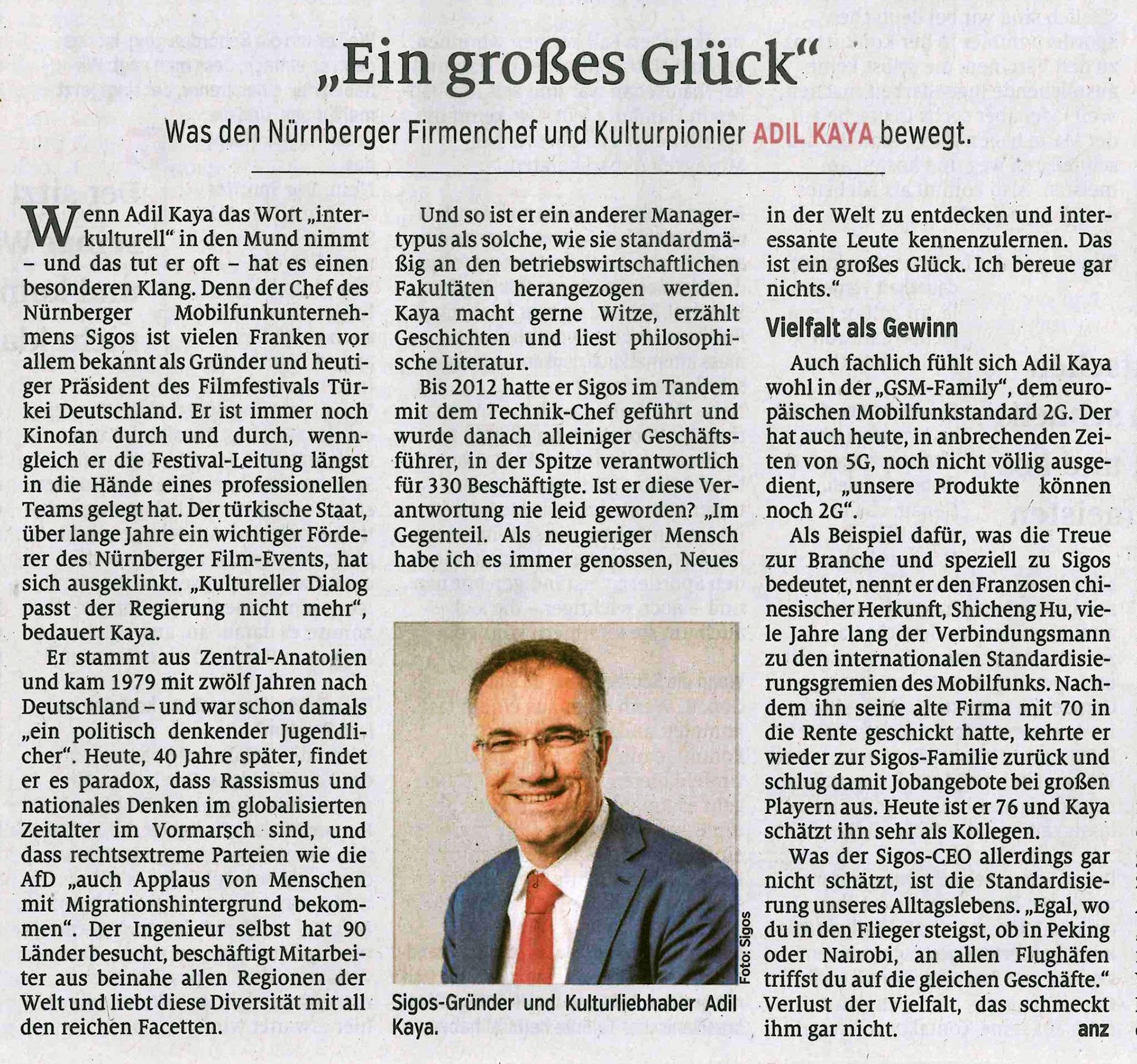Nürnberger Nachrichten 25.07.2020